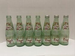 7 Dublin Dr. Pepper 8-oz. Bottles Celebrating 111 And 112 Years Of Sweet Success