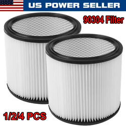 Cartridge Filter 90304 90350 90333 Type U For Shop Vac Wet Dry Vacs Replacement