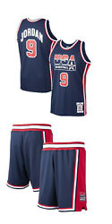 Mitchell And Ness Usa 1992 Dream Team Michael Jordan Authentic Jersey And Shorts Lot
