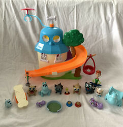 Puppy Dog Pals Doghouse Playset Disney Just Play Bingo Rolly Figures Accessories
