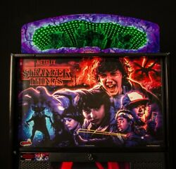 Stranger Things Pinball Topper-stern Official Topper 502-7113-00 Limited Supply