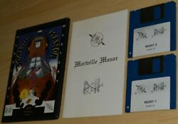 Mortville Manor By Lankhor Atari St Boxed Collectible Early Version Rare