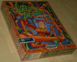 Pipe Dream Lucasfilm Atari St Big Boxed New/sealed Collectible English