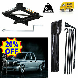 Car Spare Tire Wheel Lug Wrench And 2t Scissor Jack For Dodge Ram 1500 2002-2015