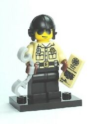 Lego Series 2 Collectible Minifigure Traffic Cop---flat Rate Shipping