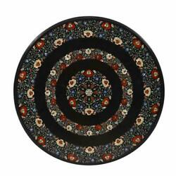36 Marble Dining Table Top Inlay Rare Stones Round Center Coffee Table Ar1060