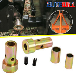 1/2/3 Set Cat1 Quick Hitch Adapter Bushing Category I 3pt Tractor For John Deere