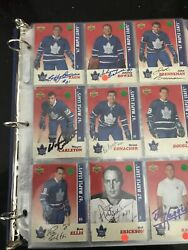 💎toronto Maple Leafs 1967 Upper Deck 2007 Comm Set Signed Multi Armstrong 👀