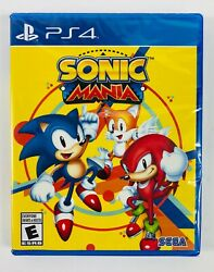 Sonic Mania Ps4 Playstation 4 Brand New Factory Sealed Free Shipping