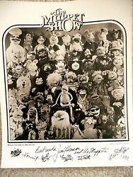 Tv Guide Promo Black And White Pre Printed Promo Photo Of The Muppet Show