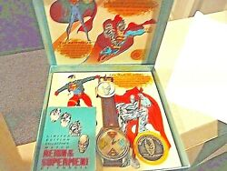 Fossil Vintage Ltd Ed Collect Reign Of The Supermen Series Set Of 4 Watches Nib