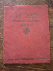 Vintage Avon Farm And Road Tyres Illustrated Brochure 1850-1950 J W T Connolly
