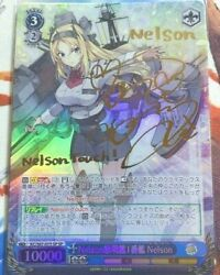 Weiß Schwarz Kantai Collection Kancolle Kc-s67-075sp Nelson Foil Signed
