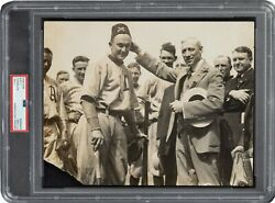 1916 Ty Cobb 1 Original Photograph Shriners From Cobb Collection Psa/dna Type I