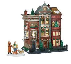 Department 56 Christmas In The City East Village Row Houses 56.59266 New