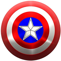 Abs Plastic Captain America Shield Adult 24 Inch Life Size Halloween Costume New