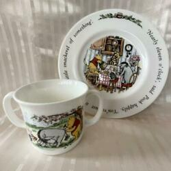 Winnie The Pooh Children's Set Two-handed Mug Plate