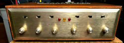 Rare H.h. Scott Stereomaster Type 299-b Tube Stereo Amplifier.made In Usa