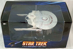 Star Trek Collectible By Hot Wheels Die-cast Model Sealed Uss Saratoga Ncc-1867