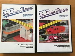 Tm Books Toy Train Revue Dvd Box Sets 1 And 2 Kalmbach Lionel Mth Tinplate