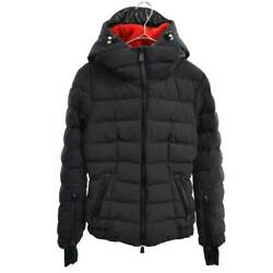 Moncler Grenoble 19aw Chena Nylon Down Jacket With Hood Bore Arm Logo Patches