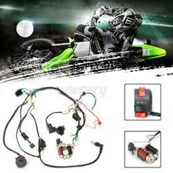 50 70 90 110cc Cdi Wire Harness Assembly Wiring For Electric Atv Quad Bike 5pins
