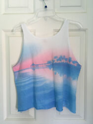 hollister tank top Sunset Beach. Large Preowned $8.00