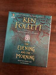 The Evening and the Morning by Ken Follett: Used Audiobook $29.99