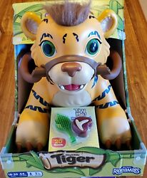 Rideamals Tiger Ride-on Toy By Kid Trax 6 Volt Rechargeable Batt/20 Sounds