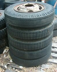 17 Split Rim Wheels And 7.50 - 17 Tires Ford Chevy Dodge