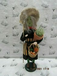 Byers Choice 2021 Halloween Gardening Witch New🎃🎃🎃🎃🎃limited