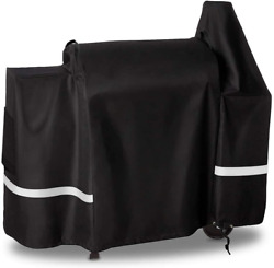 Qulimetal Grill Cover For Pit Boss 820 Deluxe/ 820d Wood Pellet Grills With The