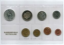 Course Set Federal Republic Germany 1964g Proof Edition Only 600 Piece