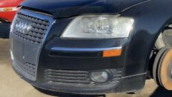 2004 - 2010 Audi A8 Front End Black Bumper Cover And Grille Hood Rh And Lh Headlight