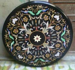 3and039x3and039 Table Marble Inlay Top Pietra Dura Home Antique Coffee Dining Decor B105