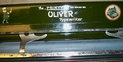 Vintage Oliver No. 9 Typewriter Carriage Only/the Printype Pat. 1912/ Very Good