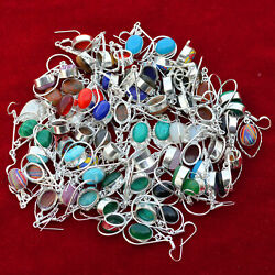 Wholesale Lot 500 Pair Earrings Labradorite And Mix Gemstone Jewelry Ps-1103