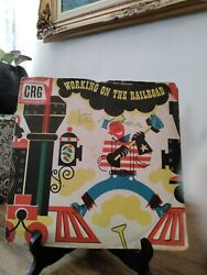 Working On The Railroad Lp Vinyl Childrens Record Guild Rare 1949