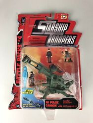 Starship Troopers Action Fleet Battle Pack 4 Mi Pulse Cannon Galoob Sealed New