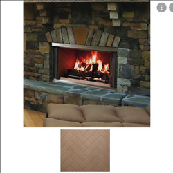 Majestic Montana 36 Outdoor Stainless Steel Wood Fireplace Montana-36hb Herring