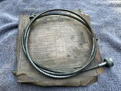 Nos Ford V8 Late 1930s Speedometer Cable P22cc Old Vintage '37-'39 Cars Trucks