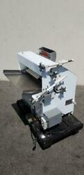 Acme 11 Pizza Bakery Two-pass Dough Roller Sheeter Bench Model Tested Works Good