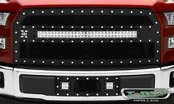 T-rex Grilles 6315731 Torch Series Led Light Grille Fits 2015-2017 Ford F-150
