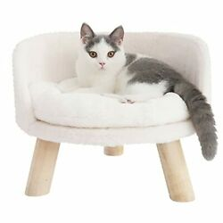 Bingopaw Elevated Cat Beds Cat Stool Bed Nordic Pet House Cozy Cat Pad Chair ...