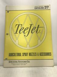 Vintage Tee Jet Spray Nozzle And Accessory Catalog Sprayer Agriculture Farming