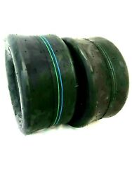 2 13x6.50-6 Smooth Slick 4 Ply Tires Fits Exmark Scag Hustler Mower And Tractor