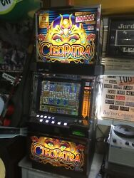 Rare Igt Cleopatra Slot Machine Works Great Las Vegas Touch Screen 1st Version