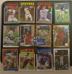 25 2021 Topps Series 1 Silver Pack Gold Foils Inserts And Rc Lot Alec Bohm Rc