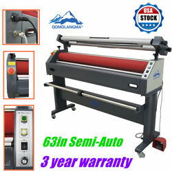Qomolangma 63in Semi-auto Large Format Cold Laminator And Mounting Machine