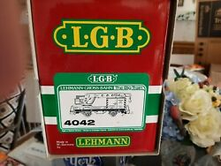 Lgb G Gauge Trains 4042 Matra/made In West Germany Vg Cond/yellow-orange